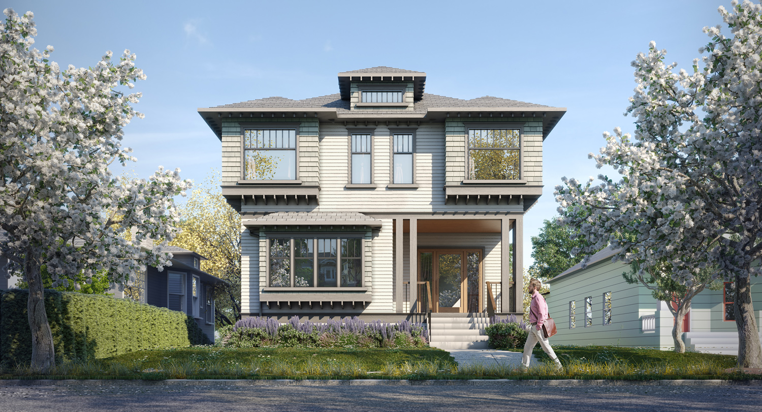 2565 9th Ave W rendering